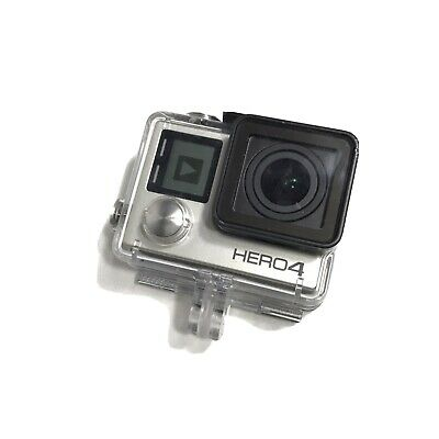 GoPro HERO 4 Silver 4K HD Action LCD Touch Screen Camera Camcorder + 64gb Memory