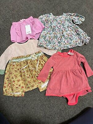 Baby Girls Size 0 Bundle Seed Shorts 6-12 Months