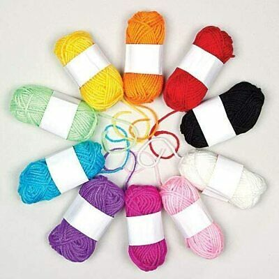 Wool, Assorted, 10g