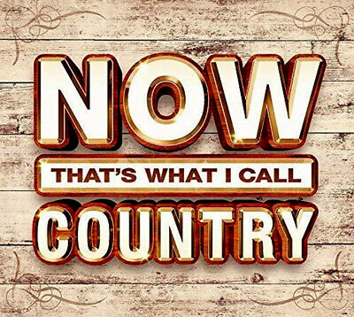 Now Country NEW 3CD Kenny Rogers,Dolly Parton,Glen Campbell,Jerry Reed + Hits