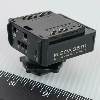 Metz SCA 3501 Dedicated TTL Flash Adapter for Leica R8 R9 M6 & M7 Cameras g25