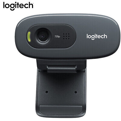 Logitech C270 Desktop or Laptop Webcam, HD 720p Widescreen for Video Calling AU!