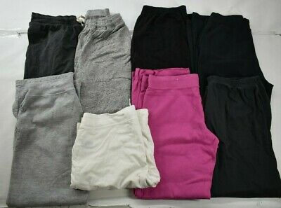 Wholesale Lot of 8 Womens Size Large Mixed Brands Athletic Sport Casual Pants