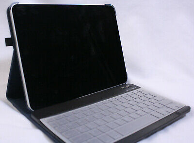 Apple iPad Pro 11-inch 256GB Used A2013 GRAY with Case & Keyboard Bundle