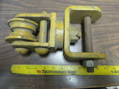 "ROPE CABLE HOIST RIGGING SWIVEL PULLEY  11"" x 6"" ASSEMBLY"