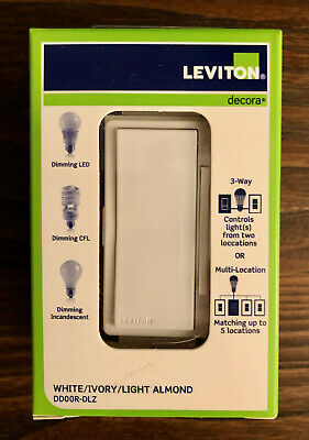 Leviton Acenti AC00R-10-NTL Natural Remote Dimmer new