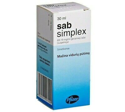 SAB Simplex Simethicone Baby Drops Colic Bloating,Wind Gripping Stomach Ache