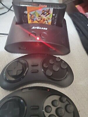 AtGames Sega Genesis Classic Console 81 Games Included and play your own games.