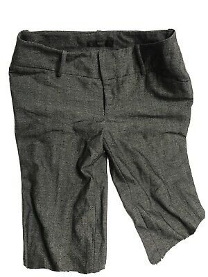 Women's MOSSIMO Stretch Wide leg Dress Trouser dark gray  Pants size 2 Fit 4