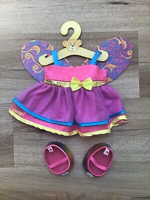 Build A Bear - Fairy Outfit Including Shoes