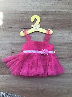 Build A Bear - Pink Dress  - Like New Condition!