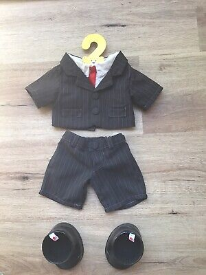 Build A Bear - Tuxedo & Shoes - Like New Condition