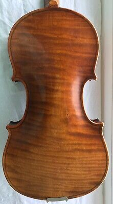 Good German violin c 1910,VIDEO!