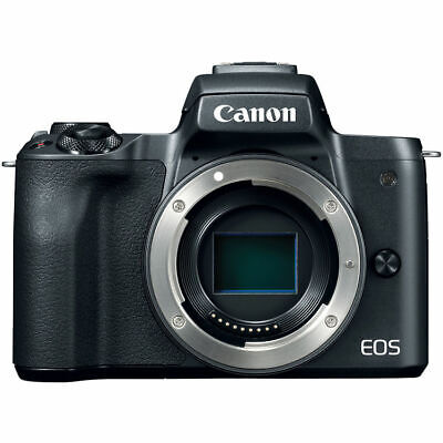 Canon EOS M50 Mirrorless Digital Camera (Body Only, Black) 2680C001