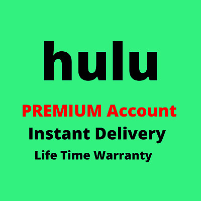 Hulu Live TV 1 Year Premium Subscription Account Instant Delivery