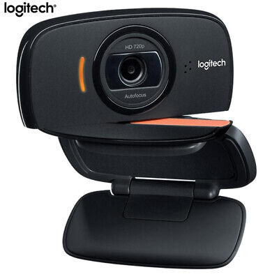 Logitech B525 HD Webcam Portable 360Rotating 720p 8Mega Video AutoFocus for Skyp