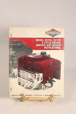 Briggs & Stratton 95700 96700 2 Cycle Engine Service Repair Instructions Manual