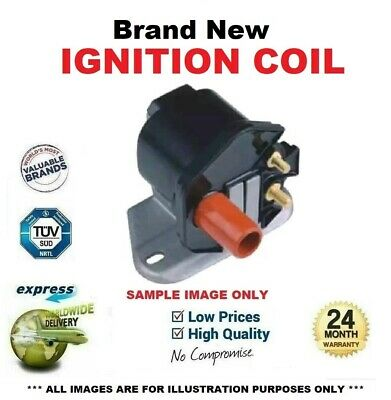 BOSCH IGNITION COIL for MERCEDES BENZ S-Class Coupe 420 SEC 1986-1991