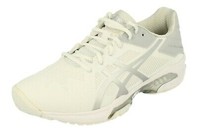 CHAUSSURES BLANC GEL Exclusive 3 SG Tennis Femme Asics Blanc
