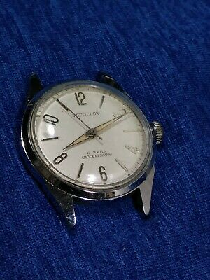 Vintage 1960s Westclox - Mens 17 Jewel Mechanical Watch RUNS