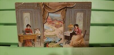 The Singer Manufacturing Co. Sewing Machine Trade Card Pan-American Exposition