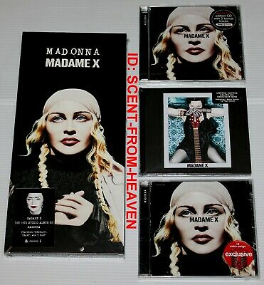 MADONNA - MADAME X - x4 CD JOB LOT - LONGBOX, DELUXE, TARGET, HMV - ALL SEALED!