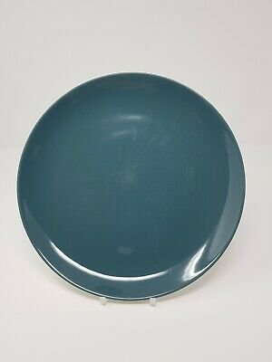 """Poole Cameo Blue Moon Contour Coupe 10"""" Dinner plate"""