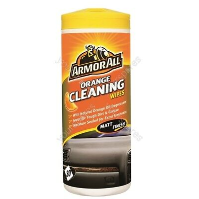 Armorall DashboardCleaning Wipes - Orange - Tub Of 30