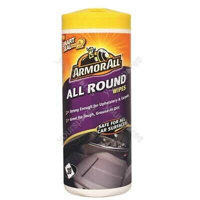 Armorall Carpet & Seat Wipes - Pack Of 30