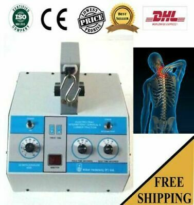 Cervical lumber Traction machine Pain Relief Physical Traction Unit neck