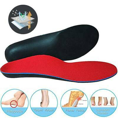 Plantar Fasciitis Flat Feet High Arch Support Shoe Insoles Orthotic Inserts CFR