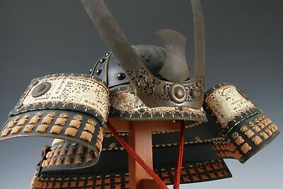 Japanese Wearable Samurai Helmet -Nice Vintage Condition Product-