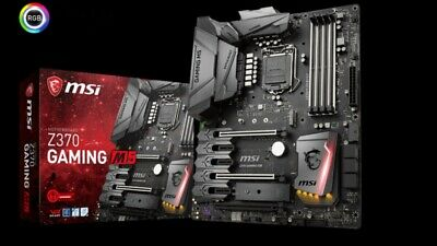 MSI Motherboard Z370 Enthusiast Gaming M5 LGA1151 DDR4