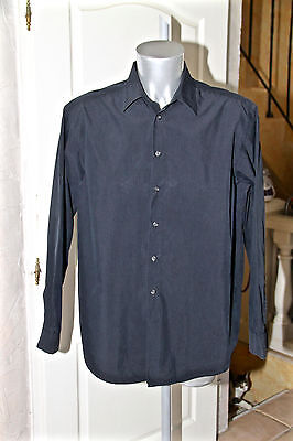 Luxurious Black Shirt Hugo Boss Black Label Size XXL Mint