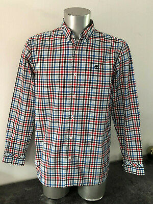 Pretty Shirt Western Chequered Man Timberland Size L Mint