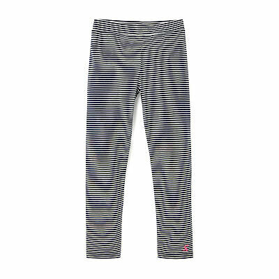 Joules Emilia Girls Pants Leggings - Navy Stripe All Sizes