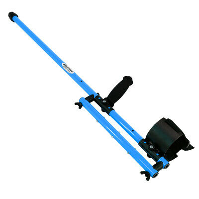 Anderson Minelab Excalibur Metal Detector Blue Aluminum Over Under Shaft 0813