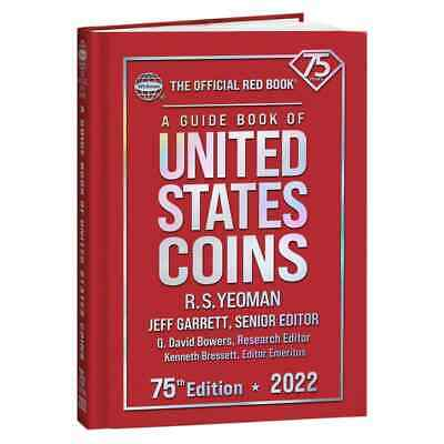 2021 Hard Cover Red Book Of U.S. Coins - Hard Bound - Hard