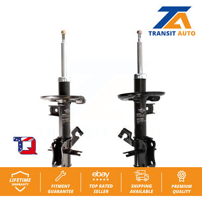 Front Shock Absorber And Suspension Strut Assemblies Pair For Nissan Sentra