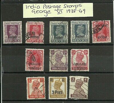 British Commonwealth Stamp Collection KGVI 1938-49, Used