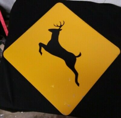 """/""""Animal Crossing Road Signs Deer// Horse/"""" Iron-On Embroidered Patch"""