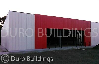 DuroBEAM Steel 100x162X18 Metal Building Clear Span Commercial Structure DiRECT