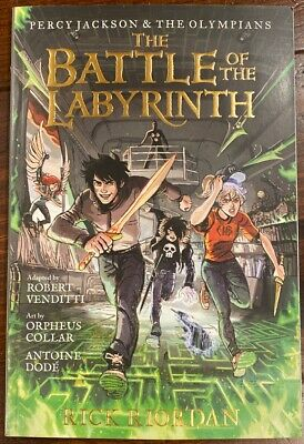 Percy Jackson & The Olympians - The Battle of the labyrinth by Rick Riordan