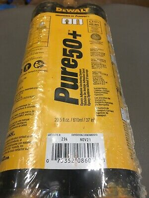 Dewalt Pure50+ Epoxy Adhesive Anchoring System 21 oz.