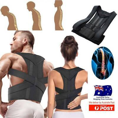 Adjustable Posture Corrector Slouching Clavicle Brace Support Back Straightener