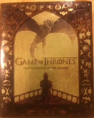 Game of Thrones: The Complete Fifth Season 4 Disc Blu Ray Set (2015)