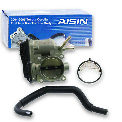 qs AISIN Fuel Injection Throttle Body for 2009-2010 Toyota Corolla 1.8L L4