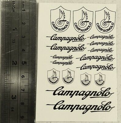 Replacement waterslide decal kit for Campagnolo RECORD 2 group set derailleur