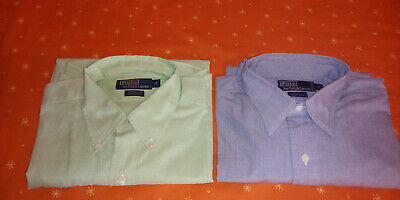 Lotto 2 camicie POLO by RALPH LAUREN Tg 16