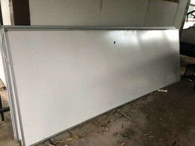 Whiteboards x 5 - 3600mm x 1200mm. Take as many as you need. Good condition.